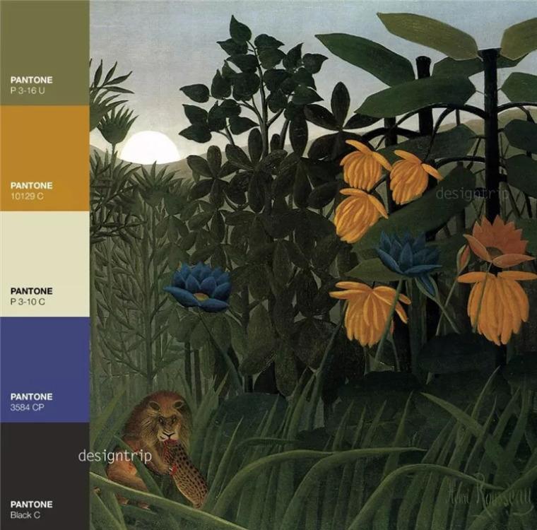 有一种色彩,叫卢梭_17