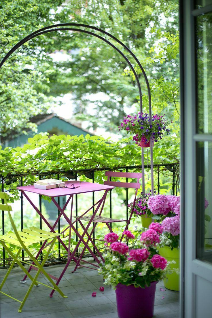 30个开放式阳台花园设计方案