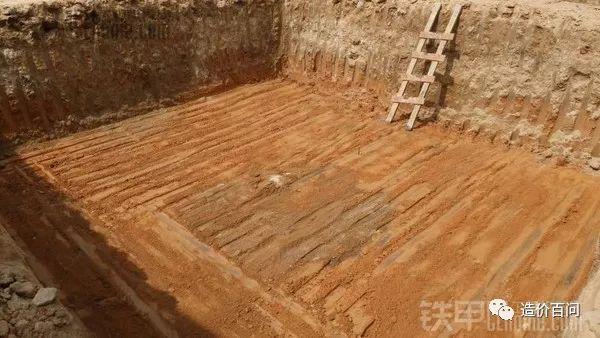 基坑的施工过程以及土方计算方法_9