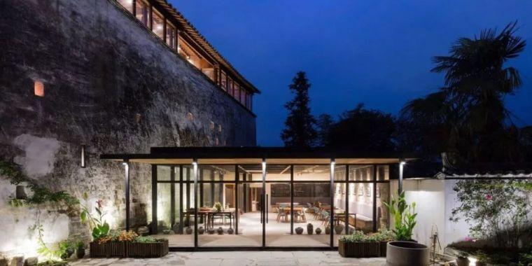 三百年徽派老式建筑改造民宿设计