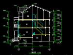 五层联体别墅圈套施工图