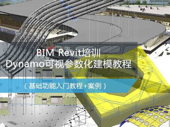 【6月1日直播】BIM Revit培训之Dynamo可视参数化建模教程(桥梁建模/隧道建模/路桥BIM培训)