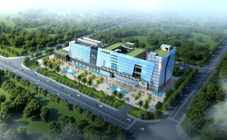 [广西]贺州办公楼建筑方案设计文本