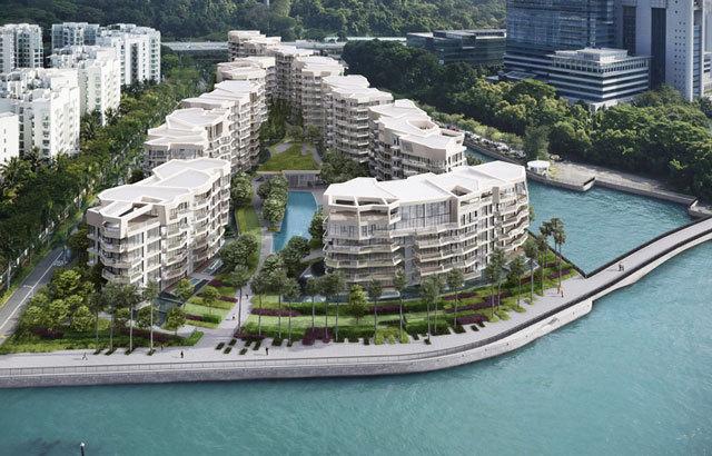2-新加坡吉宝湾丽珊景住宅景观设计第1张图片