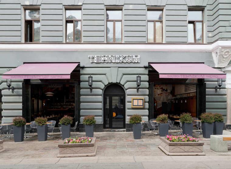 苏维埃时代现代主义酒馆-Terrace