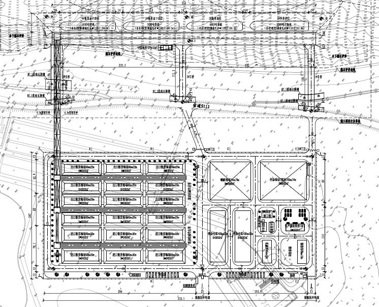 [湖北]综合码头工程全套施工图