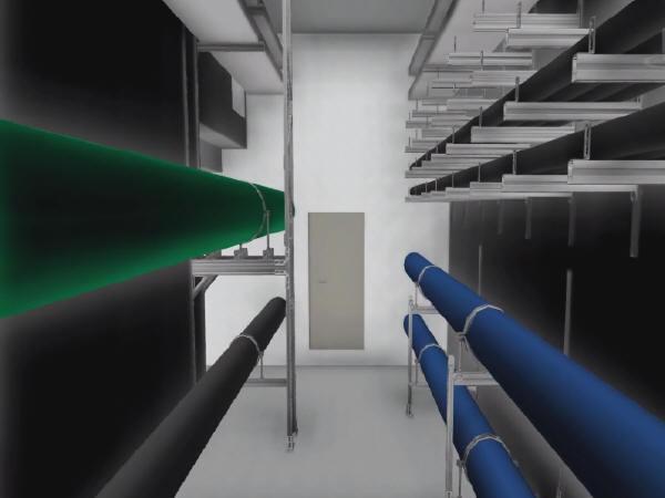 城市支线型综合管廊工程BIM应用报告33页PPT(附视频)