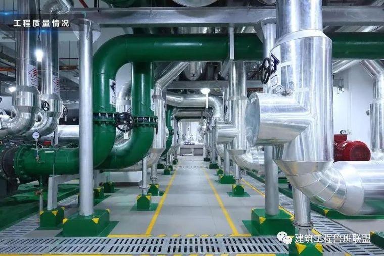 鲁班奖工程的机电管道怎么那么好看?秘诀在防腐绝热与标识!