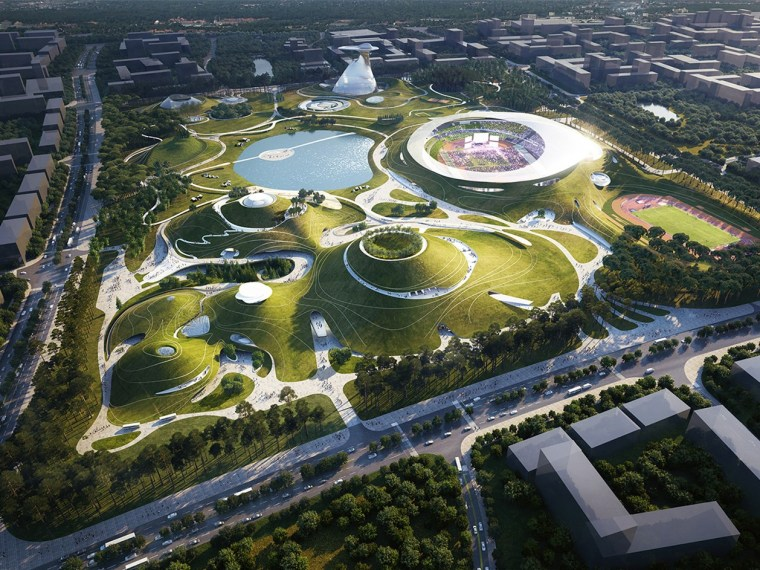 衢州体育公园总体规划