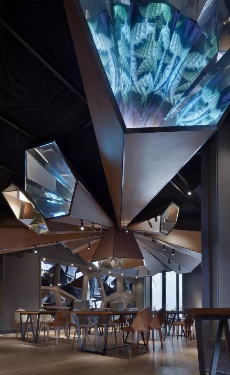 北京蓝色港湾花酷餐厅设计案例欣赏_14