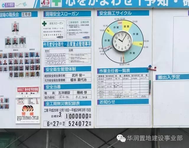 观摩日式施工管理是一种怎样的体验,大量图片揭秘日式管理!