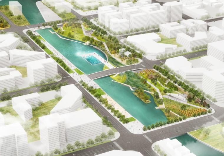 [上海]临港量子公园方案深化设计文本(PDF+107页)