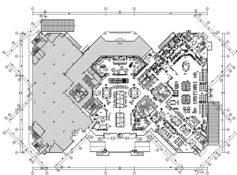 上海万和铂尔曼酒店施工图设计+效果图