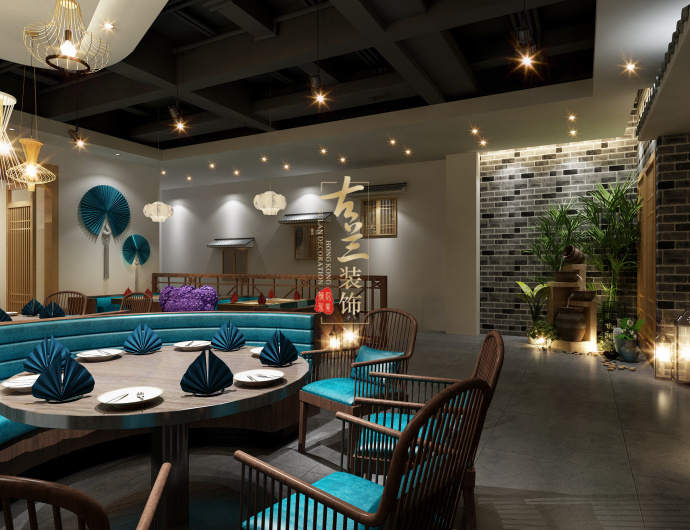 成都中餐厅装修设计公司-《徽州人家特色餐厅》-古兰装饰-徽州人家特色餐厅5.jpg