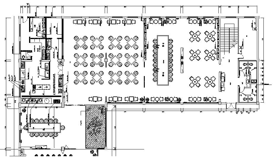 某佛教文化交流空间平面系统图_2