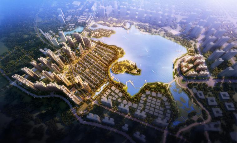 [上海]保利高层住宅及联排别墅建筑规划设计方案文本