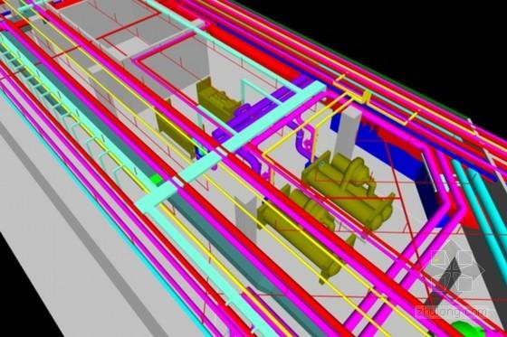 BIM技术在抗震支吊架系统的应用实例