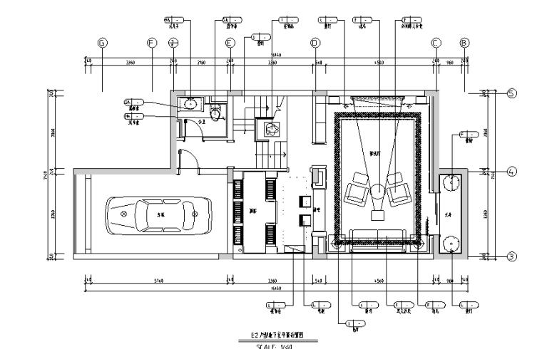 欧式风格三层联排别墅设计施工图(附效果图+模型)