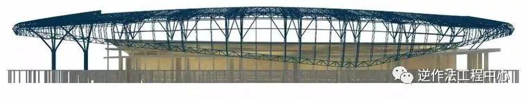 体育场径向环形大悬挑钢结构综合施工技术研究_6
