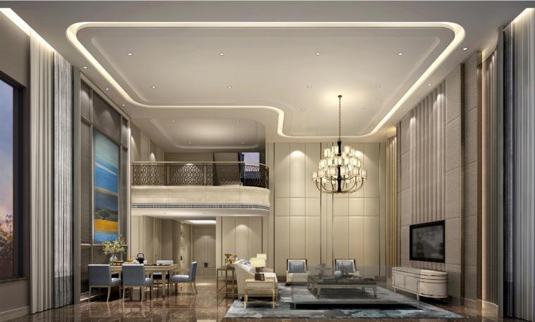 [福建]梁志天-泉州中骏·国金中心2个户型样板间深化设计方案
