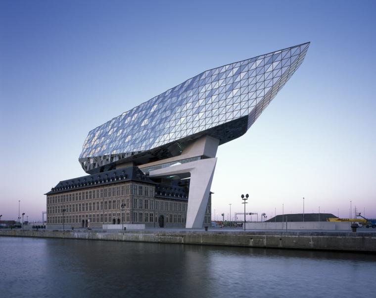 比利时安特卫普港口大楼-10