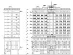 3套现代宾馆酒店建筑设计施工图CAD