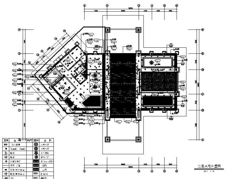 [成都]韵艺静雅中式风售楼处室内设计施工图(含实景图)_1