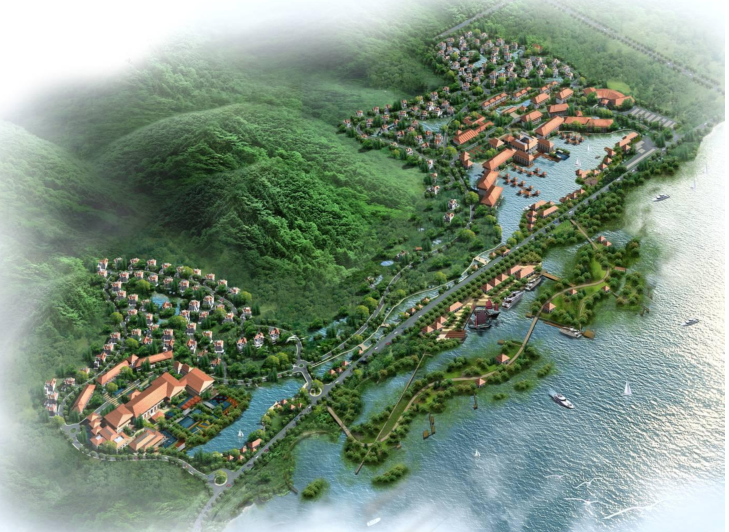 无锡灵山国际温泉旅游度假养生中心项目建筑设计方案文本(含景观设计)