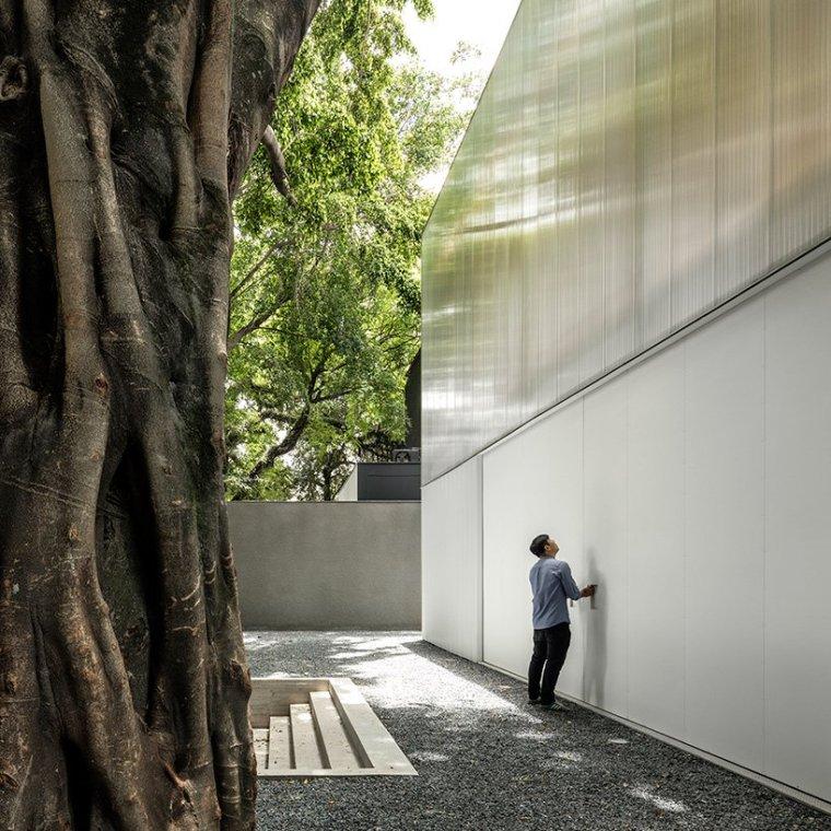 巴西木结构多功能展馆-2