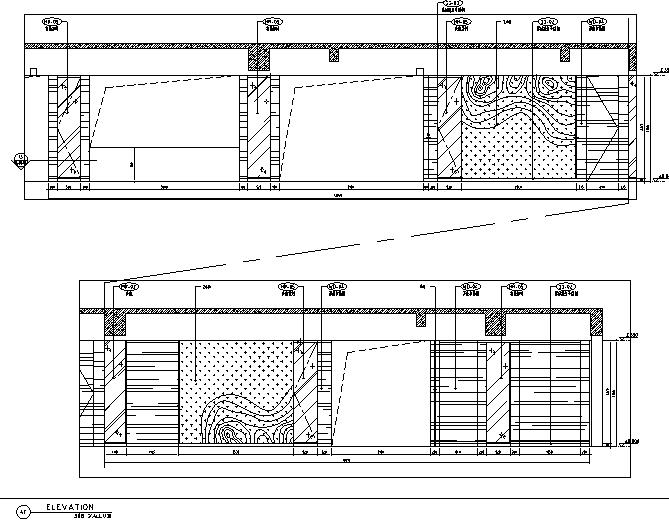 400平方酒店设计施工图(附效果图)_3