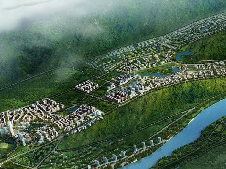 [四川]宜宾临港经济开发区概念建筑设计方案文本