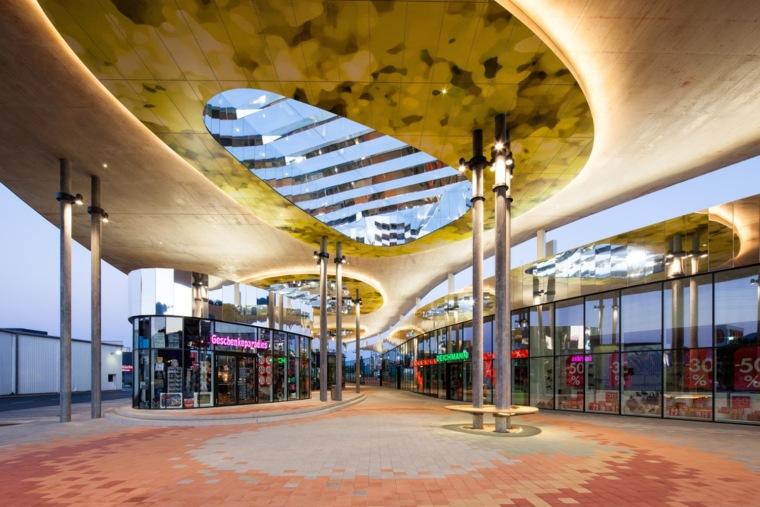 万漪景观分享--NordGraz购物中心_4