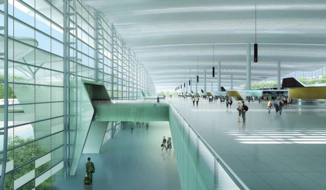 漫谈金属屋面的建筑设计应用(1)——广州新白云国际机场航站楼_25