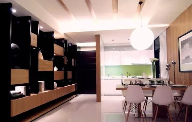 不一样的小户型装修风格,现代简约风混搭三室装修_4