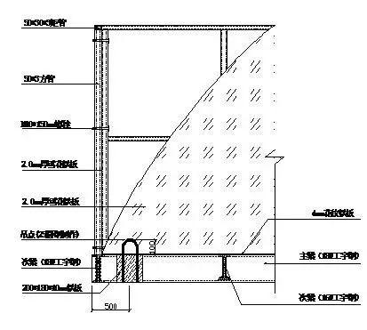 悬挑式卸料平台制作施工技术交底(附详细做法示意图)_3