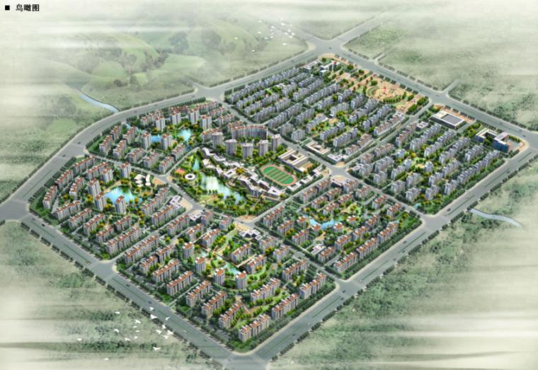 [山东]鳌山社区修建性详细规划及建筑设计方案文本