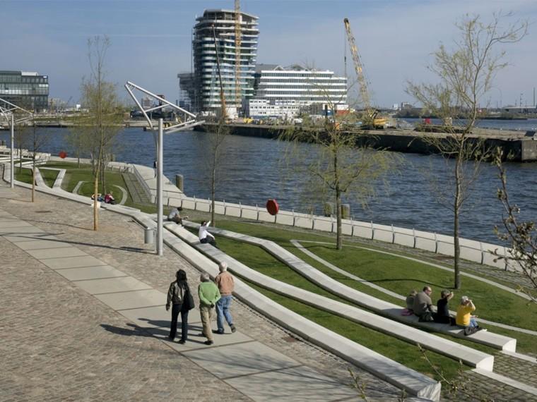 德国Hafencity滨水城市公共空间