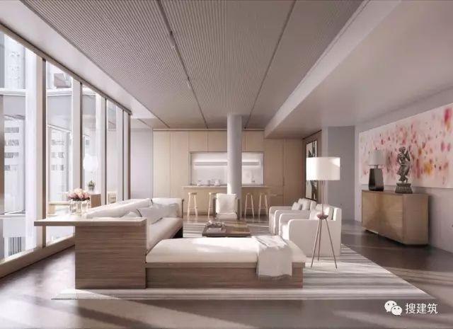 """万科200米高、61层的""""新地标住宅"""",1000-1600平方英尺的户型设_26"""