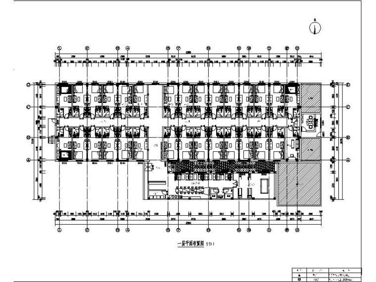 [北京]酒店式公寓室内设计施工图(含效果图)_1
