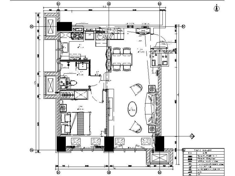[北京]精装复式loft住宅设计施工图