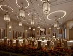 高大宴客厅3D模型下载