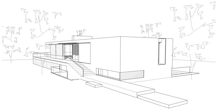 荷兰混凝土板组成的Zeist住宅-15