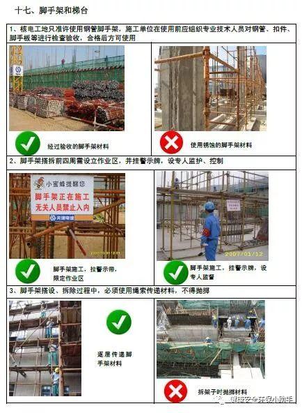 一整套工程现场安全标准图册:我给满分!_37