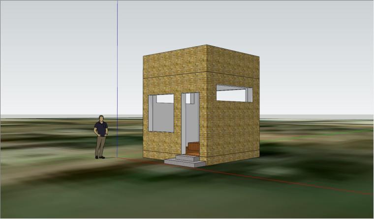 小单元&精简功能的实用住宅