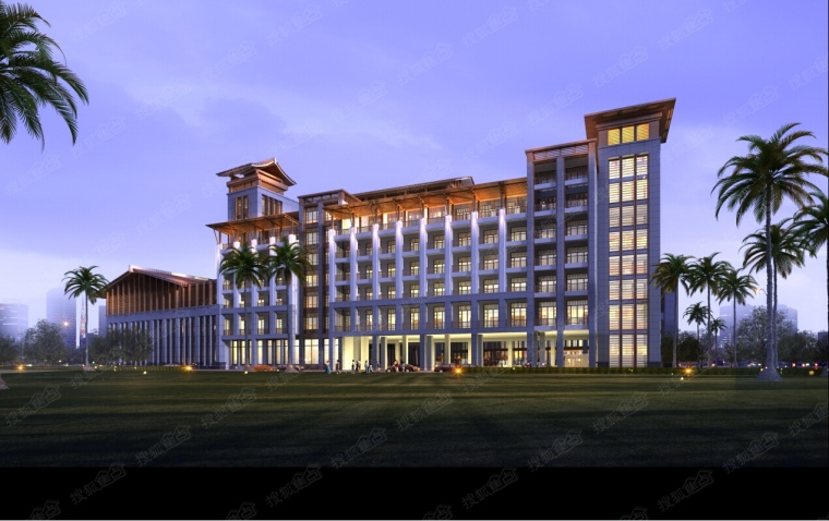 湖南五星级酒店初步设计及施工图设计任务书
