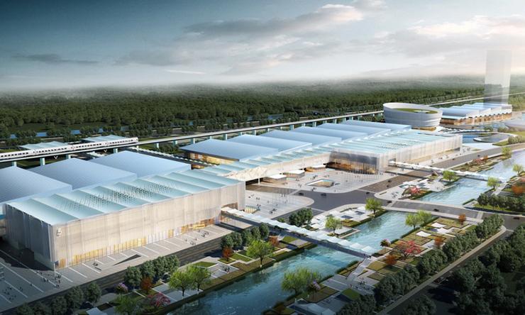 全国7大会展中心设计合集(实景图+效果图)-09
