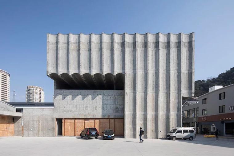 台州旧仓库改造的当代美术馆-1