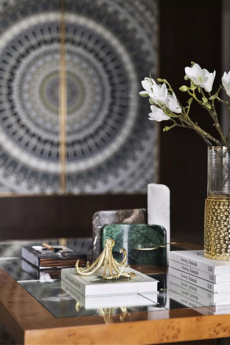 240㎡珍稀优雅豪宅软装设计,创造引领新都市的优质生活空间!_12