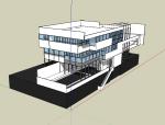 建筑设计大师理查德诺伊特拉SU模型合集(共五套)