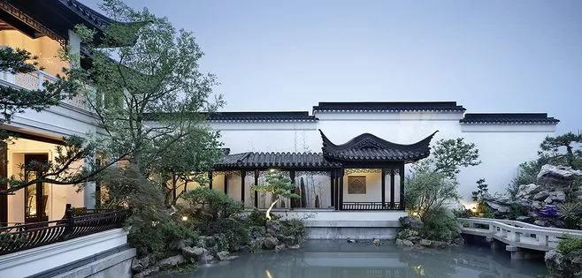 新中式庭院尽显书香意气_25